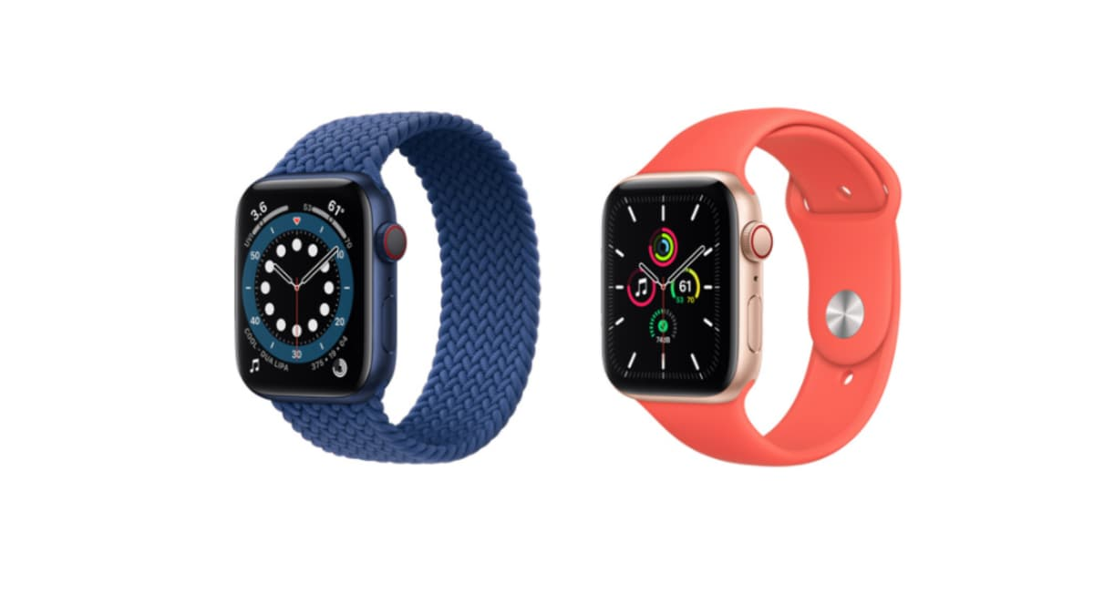 Apple watch sizes explained · apple watch series 3: Apple Watch Series 6 Vs Apple Watch Se Price In India Features Compared Ndtv Gadgets 360