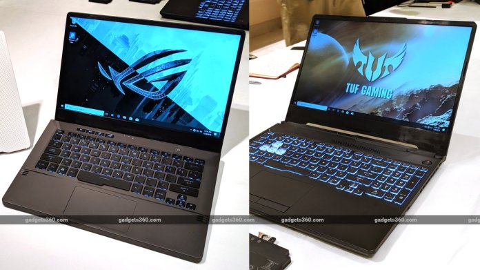 Asus Rog Zephyrus G14 And Tuf Gaming A15 First Impressions Ces 2020 Ndtv Gadgets 360