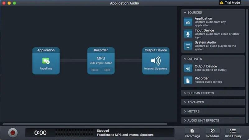 audio hijack record calls facetime Audio Hijack