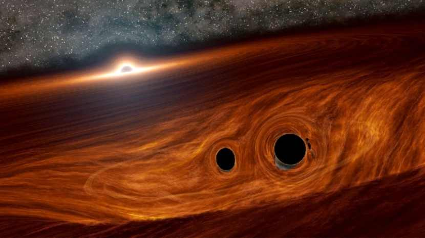Scientists Spot Light Flare From a Black Hole Collision for the First Time Ever 1