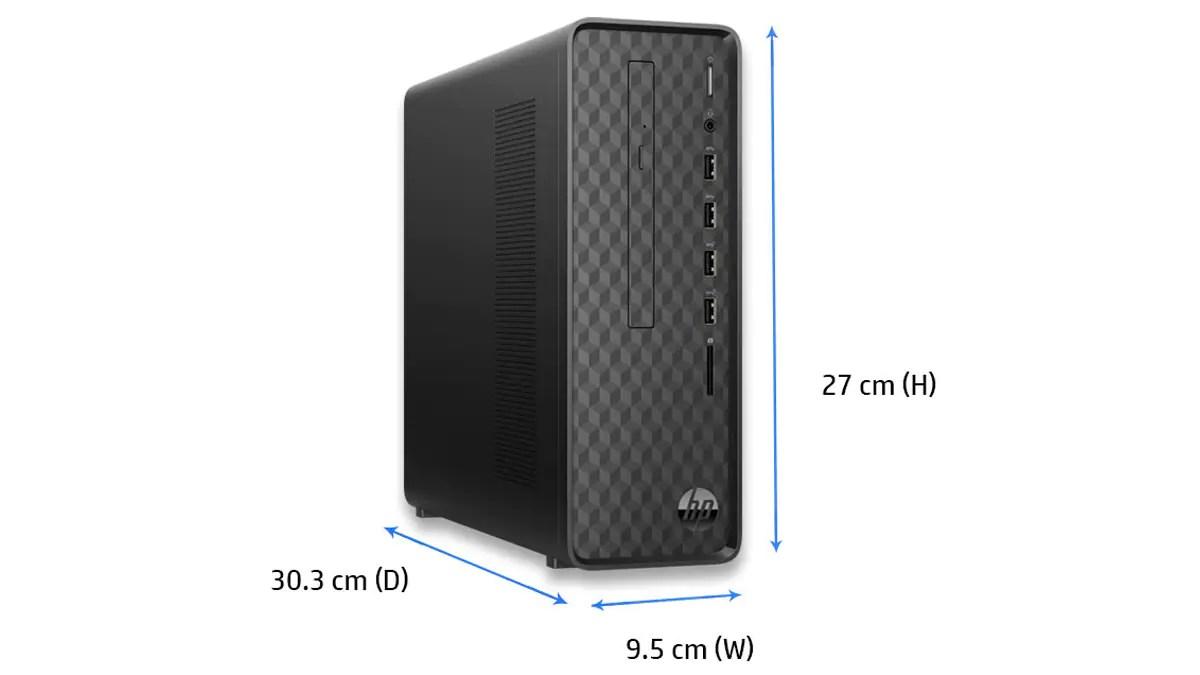 budget desktop guide HP Slim dekstop ww