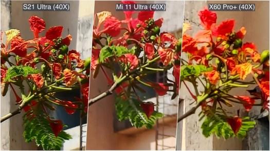 camera comparison daylight 40x 1 ww