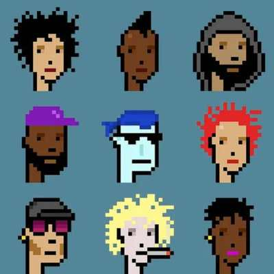 CryptoPunks NFT Collection Auctioned For $16.9 Million at Christie's