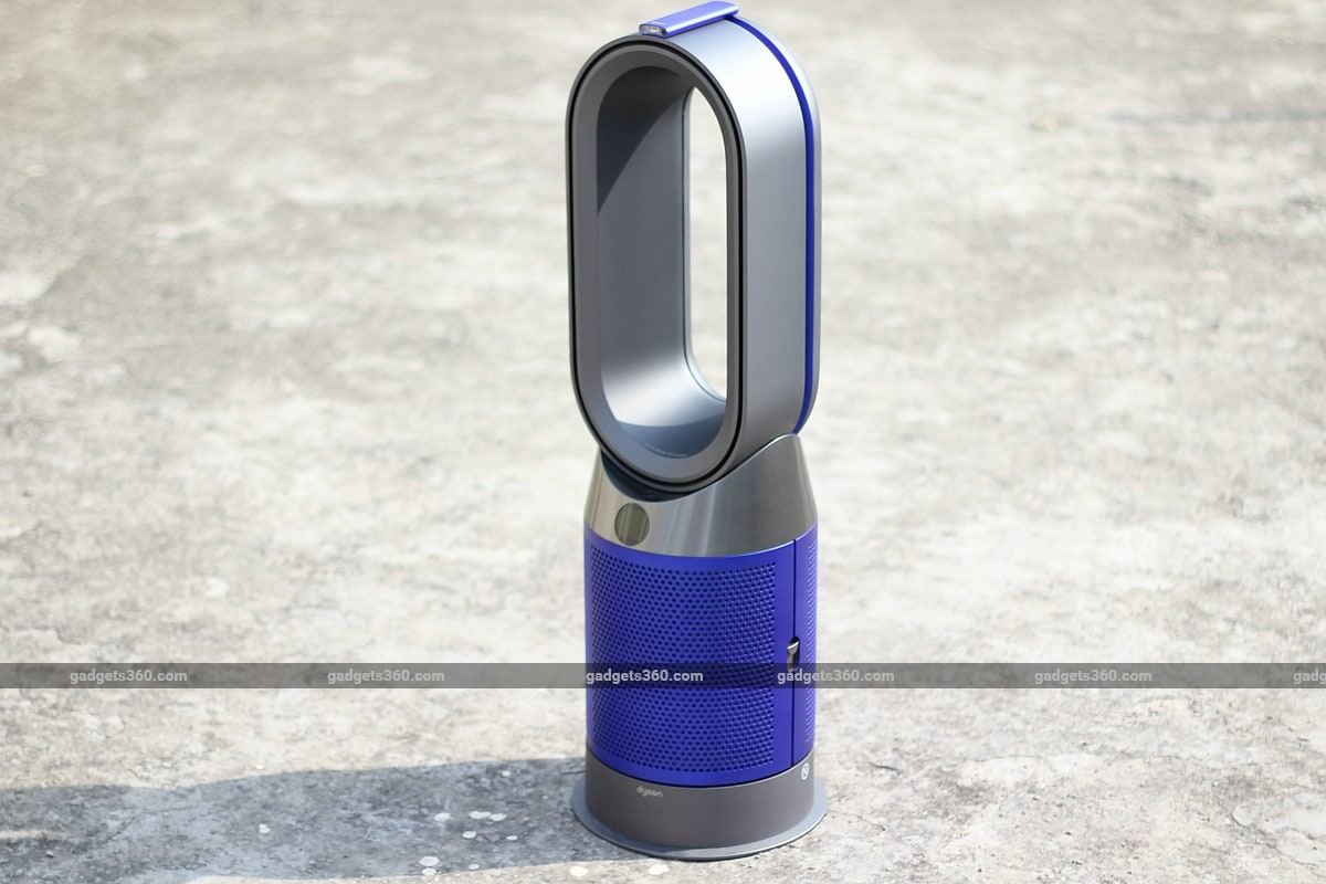dyson pure hot cool air purifier front view gadgets 360