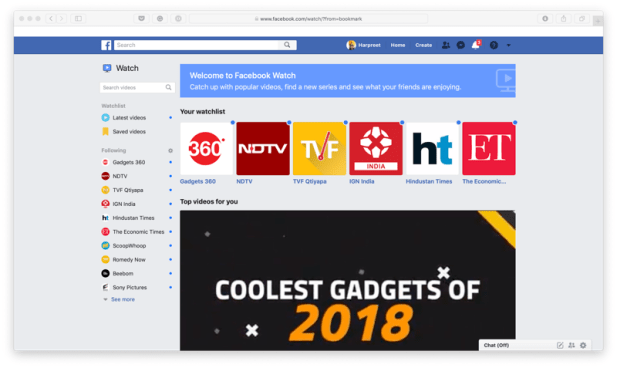 Facebook Watch Now Available Globally on Desktop and Lite App, Ad Breaks Roll Out in 14 More Countries