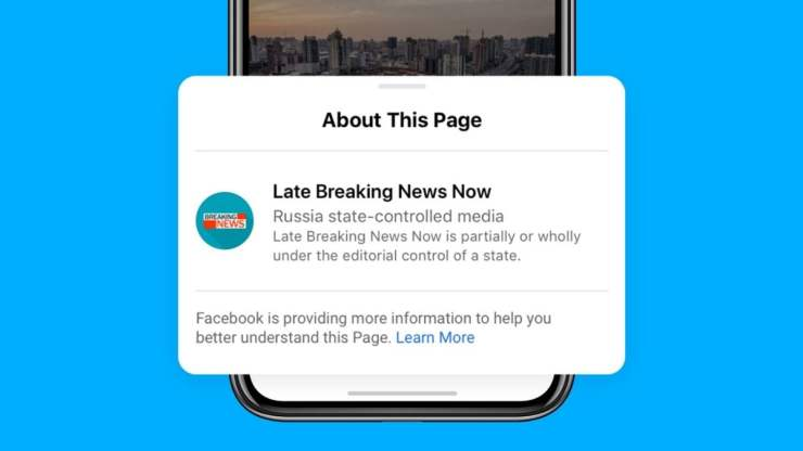 Facebook Starts Labelling State-Controlled Media Posts, Will Block ...