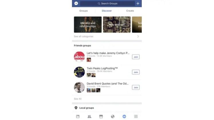 fb groups telegraph Facebook