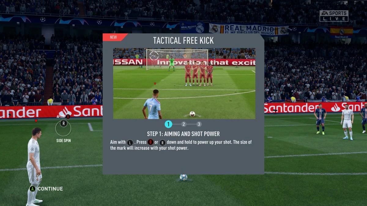 fifa 20 free kick FIFA 20