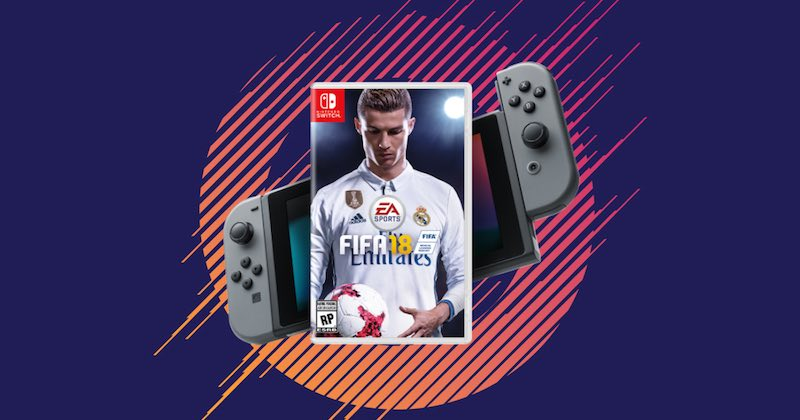 FIFA 18 Nintendo Switch Price in India Announced
