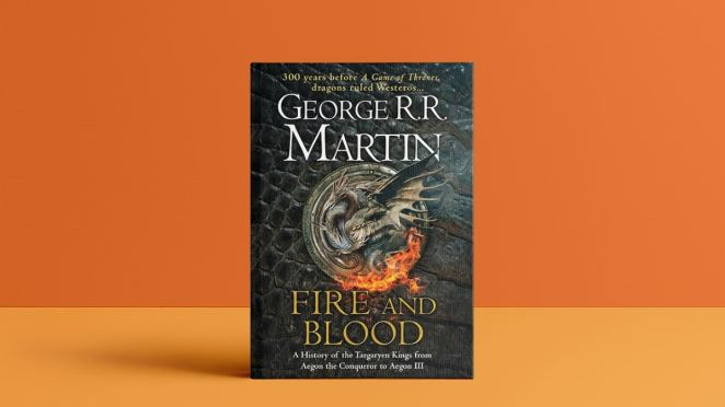 Front cover of Fire and Blood book