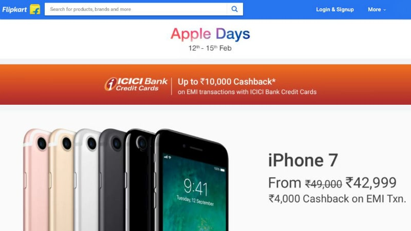 Flipkart Sale on Apple Devices Till February 15: Discounts on iPhone X, iPhone 8, and More