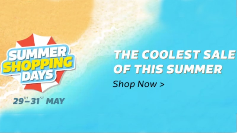 Flipkart Summer Shopping Days Sale: Offers on iPhone 7, iPhone 6s Plus, Samsung Galaxy J3 Pro, and More