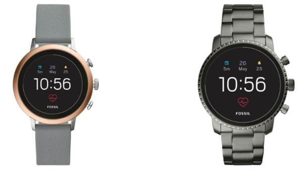 Fossil Q Venture HR, Q Explorist HR Wear OS Smartwatches Launched in India, Prices Start From Rs. 19,995