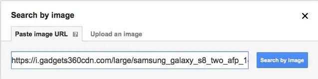 google image search paste url sc Google Image Search