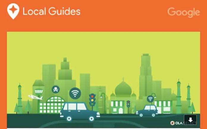 google local guides reward local guides