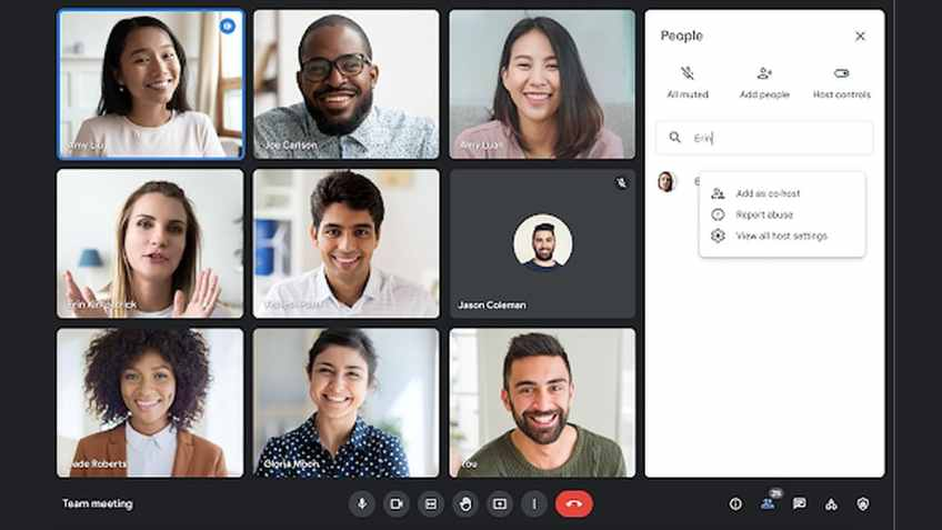 Google Meet Sessions Can Now Have 25 Co-Hosts With Latest Update
