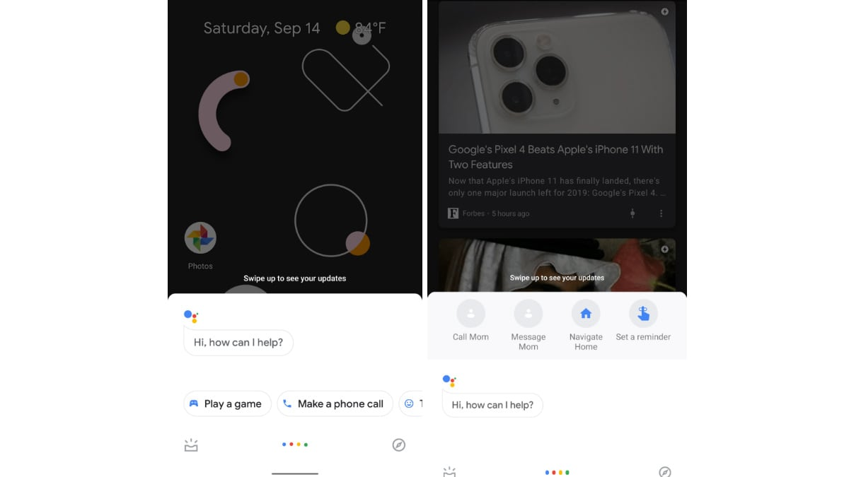 googleassistantui 9to5google main Google Assistant New UI