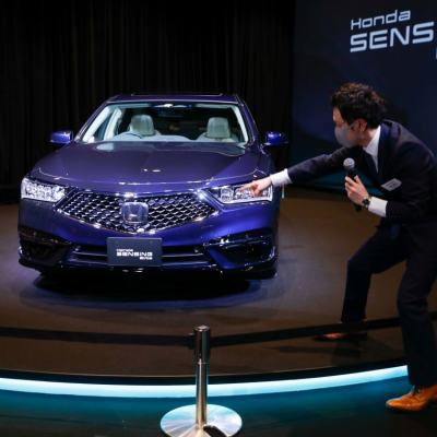 Honda to Sell Limited Batch of Level 3 Self-Driving Car Legend in Japan