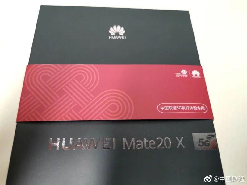 huawei mate 20 x retail weibo Huawei Mate 20 X 5G Retail Packaging