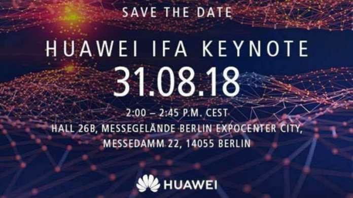 Huawei Kirin 980 SoC Expected to Launch at IFA Keynote on August 31