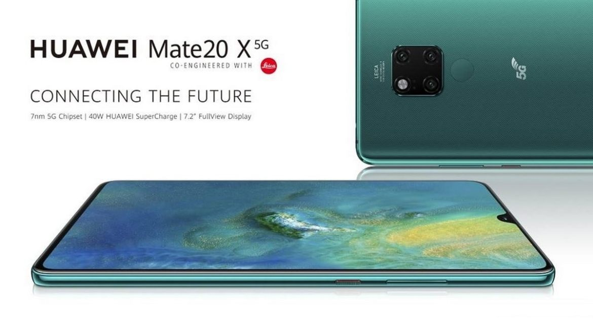 Huawei Mate 20 X 5G Goes Official With 5G Support, Smaller Battery, and 40W Fast Charging