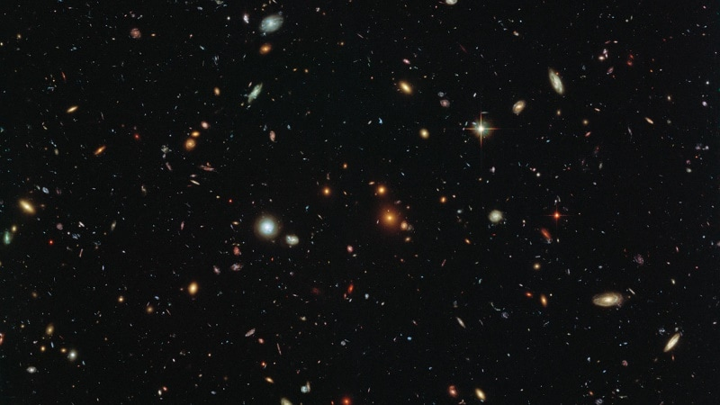 NASA's Hubble Telescope Images Distant Galaxy With New Computer Code