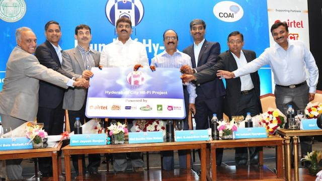 Hyderabad City Wi-Fi Project Launched With Over 1,000 Hotspots
