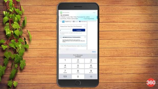 iOS 12 apple sms otp autofill iOS 12