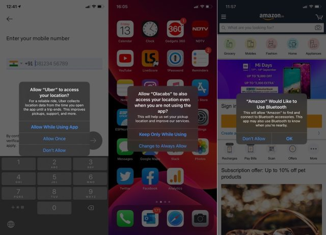 iOS 13 privacy alerts iOS 13 review