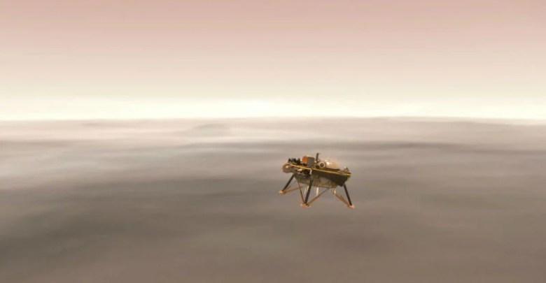 سوف ناسا InSight المركبة الفضائية الهبوط على سطح المريخ بث مباشر 1