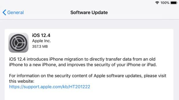 ios14 iOS 12.4