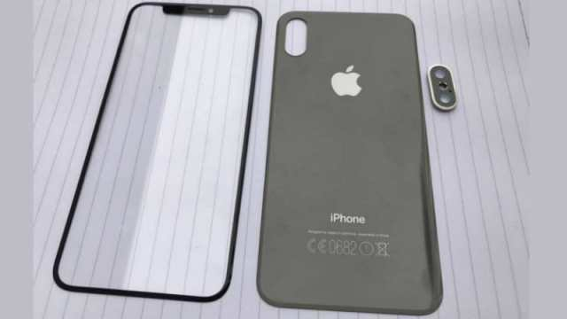 iPhone 8 Front and Back Panel Leaked Images Reveal Bezel-Less Design