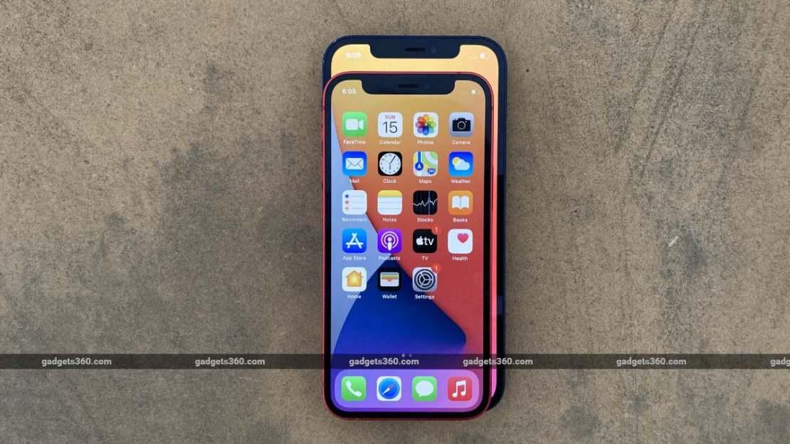 iphone 12 mini screen ndtv iphone