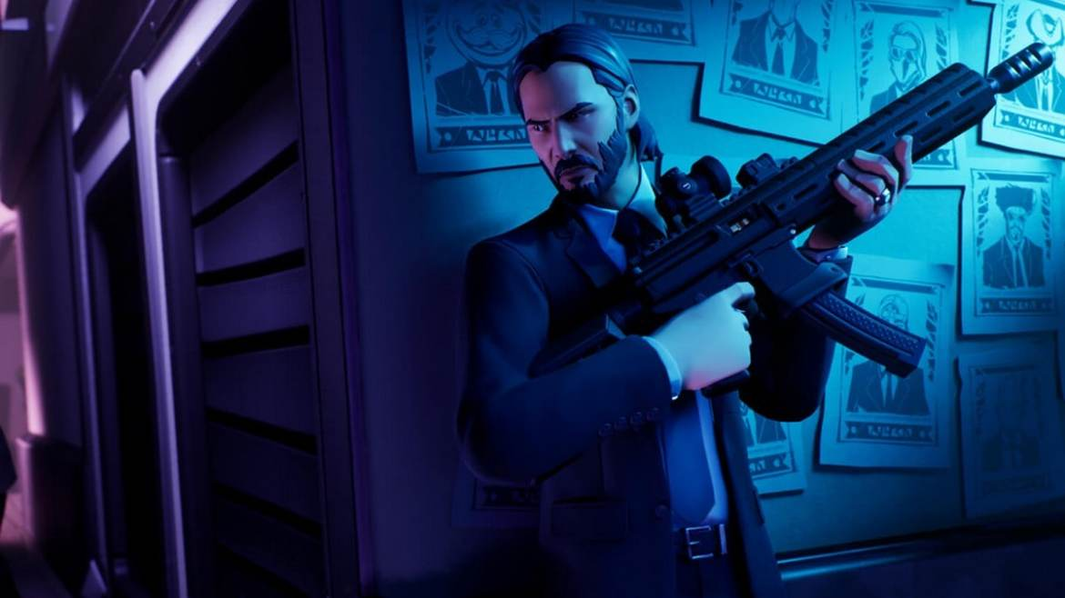 John Wick Arrives in Fortnite With Wick's Bounty Limited Time Mode; Character Costume, Assassin Items Hit the Shop