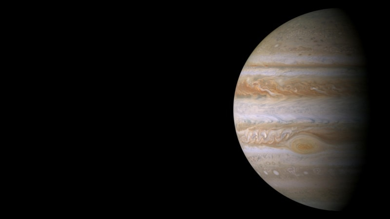 NASA's Juno Probe to Fly Over Jupiter's Great Red Spot Today