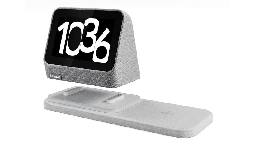 Lenovo Smart Clock 2 With Wireless Charging Dock Launched