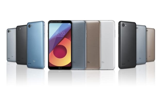 LG Q6, Q6+, Q6a With FullVision Display and Snapdragon 435 SoC Launched