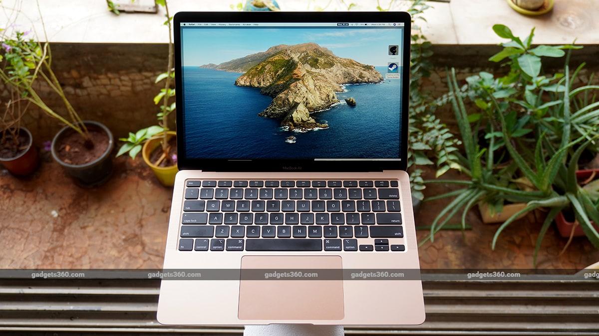 macbook air 2020 review front MacBook