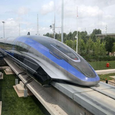 China's New Maglev Train 'Levitates' Above Track, Top Speed is 600kmph