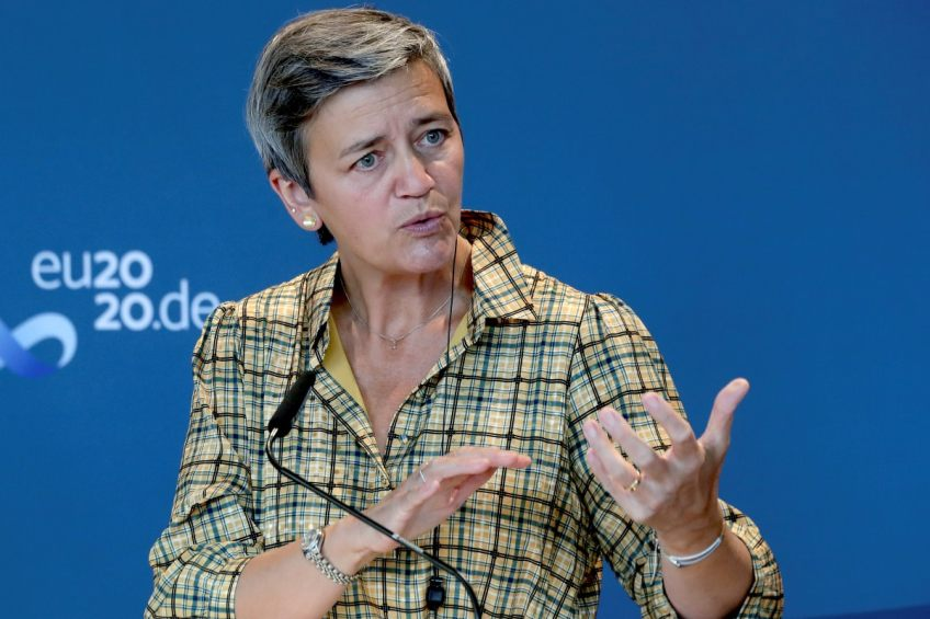 Facebook Outage Shows Need for More Players: EU Antitrust Chief