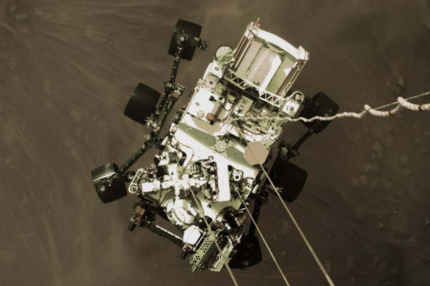Check Out the Mars Landing Video of NASA's Perseverance Rover