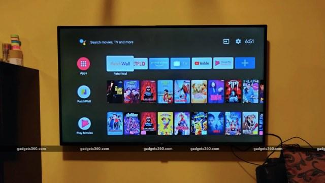 mi tv 4x 50 android tv Mi TV
