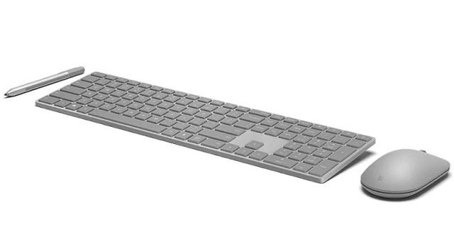 Microsoft Modern Keyboard With 'Hidden' Fingerprint Scanner Launched