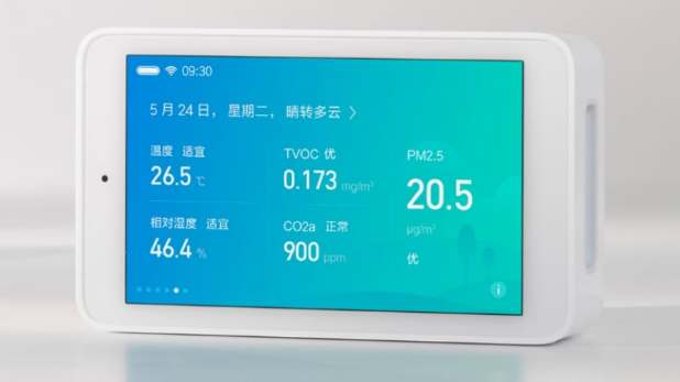 Xiaomi Mijia Air Quality Detector With PM2.5, CO2 Indicators Launched: Price, Specifications