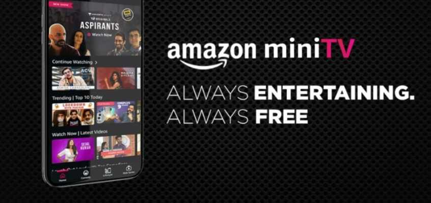 Amazon miniTV In-App Video Streaming Platform Launched in India