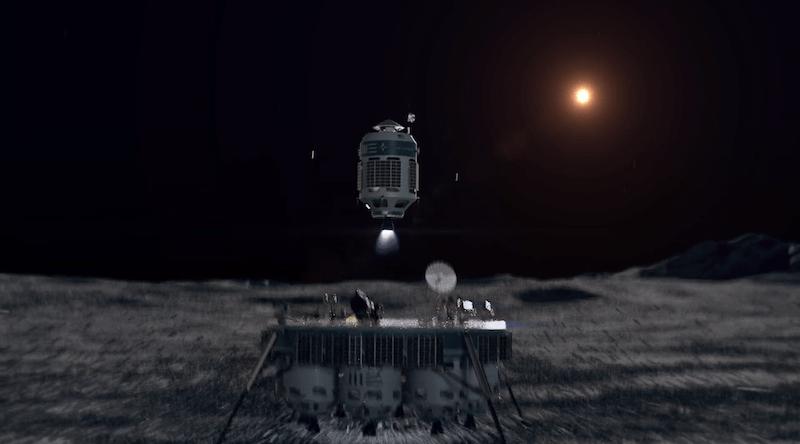 moon express mx 1e ascending moon express
