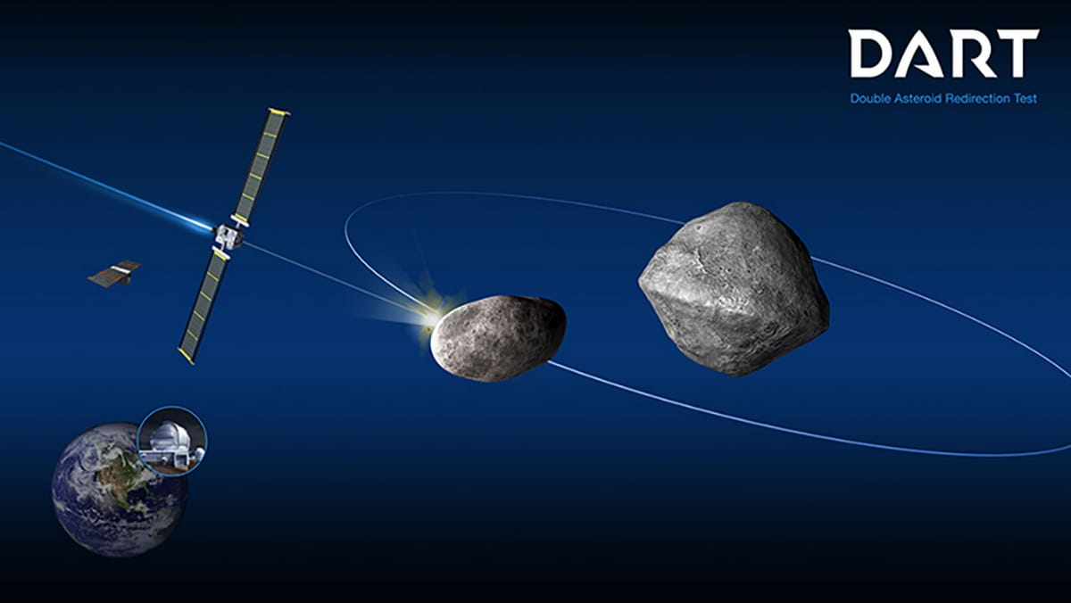 NASA Spacecraft to Collide a Small Moonlet in 2022