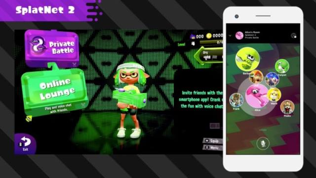 Nintendo Switch Online App for Android and iOS to Launch With Splatoon 2
