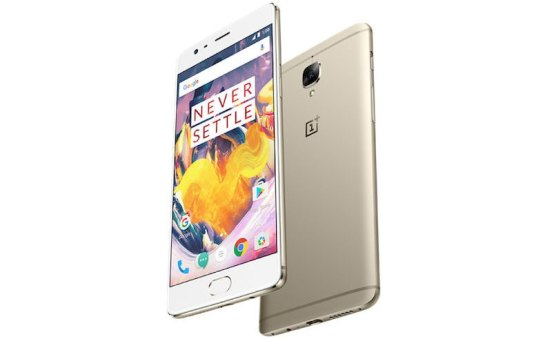 OnePlus 3T Soft Gold Variant to Go on Sale in India Starting January 5