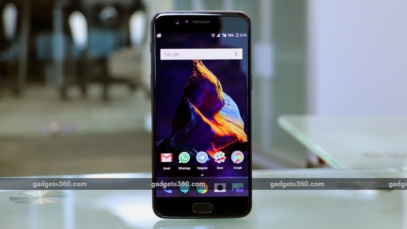 oneplus 5 front gadgets 360 oneplus